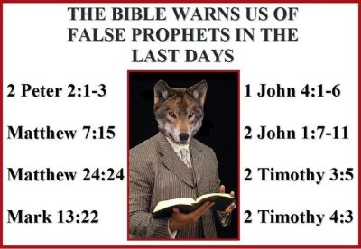 THE BIBLE WARNS US OF FALSE PROPHETS IN THE LAST DAYS – 2 Peter 2:1-3 | The mud, A good man and ...