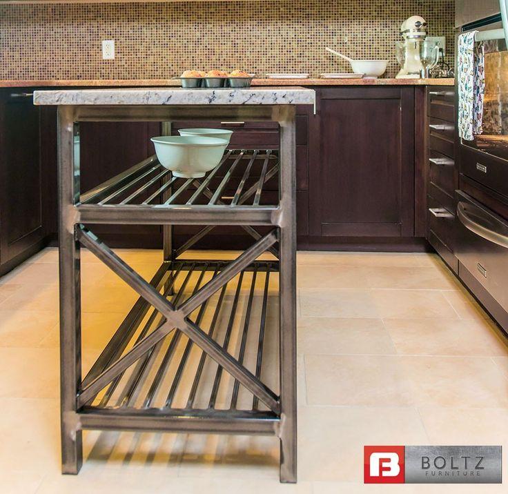 chefx kitchen island cart by u0026 dining boltz steel furniture metal