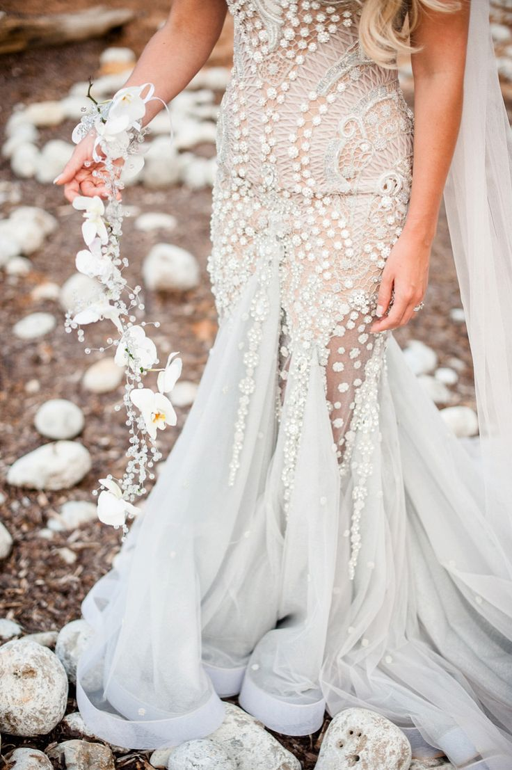 wedding dresses to die for island wedding dresses A Mermaid Inspired Wedding Dress for an Island Wedding By The Sea