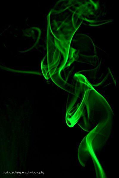 green rising smoke on black background wallpaper iphone | iphone wallpapers 2 Lock Screens ...