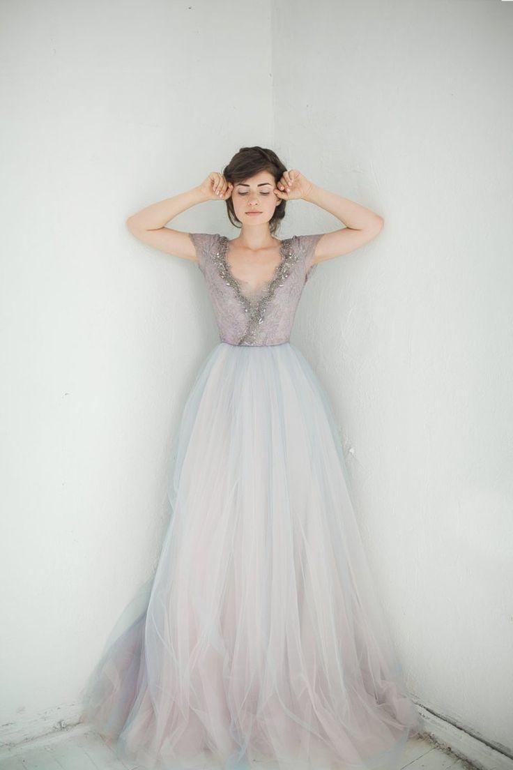 non white wedding dresses simple white wedding dresses Stunning non white wedding dresses by Carousel Fashion