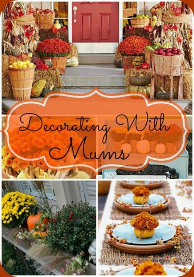 13 Easy and Inexpensive Fall Decorating Ideas | Gardens, Flower and Decorating tips