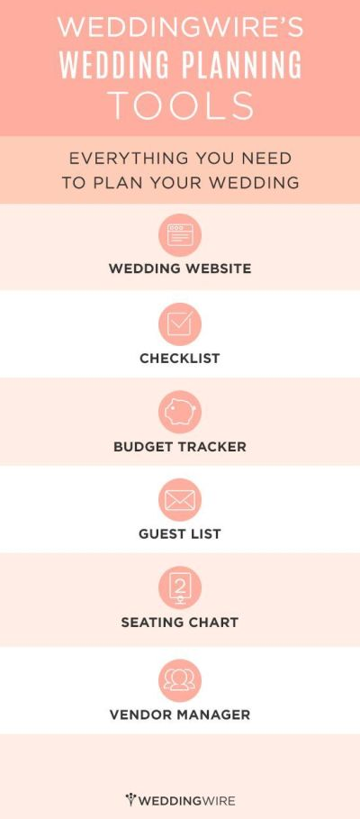 free planning tools! wedding wire, wedding website ...