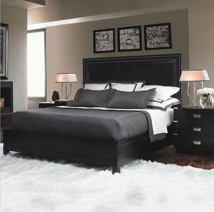 black bedroom furniture with gray walls tips and suggestions to enjoy decor pinterest