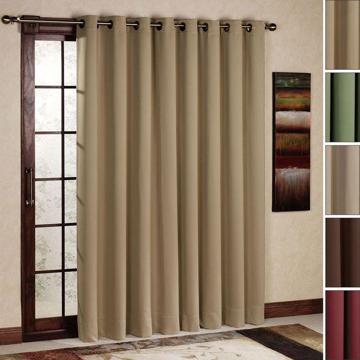 Brilliant Modern Curtains For Sliding Glass Doors On Design