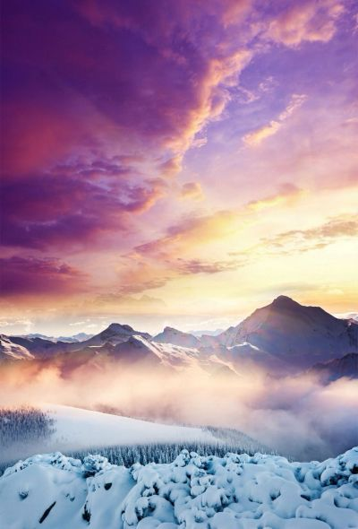 Purple skies   Wallpapers and backgrounds   Pinterest   Ios 7 wallpaper, Ios 7 and Nature