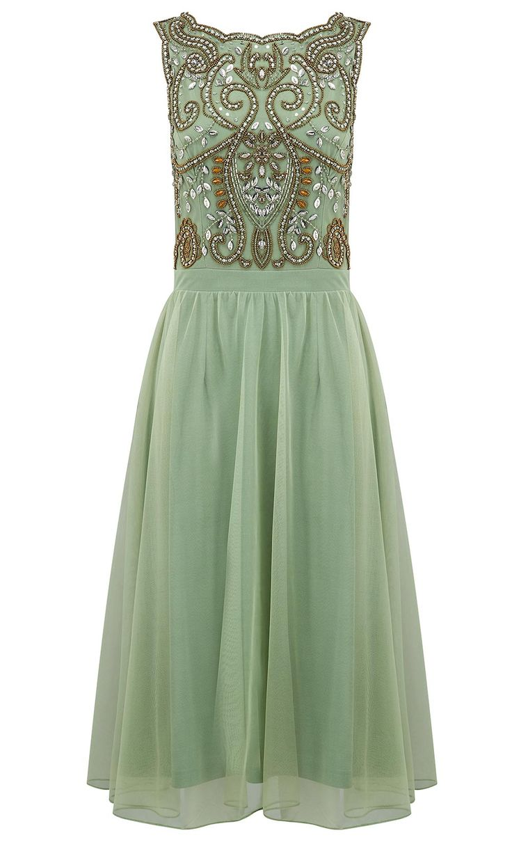 summer wedding guest dresses wedding outfits If you want a glamorous look as a wedding guest this stunning green dress from