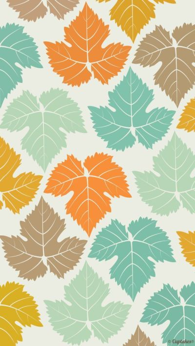 Leaves - Pattern iPhone wallpapers @mobile9 | #background #nature #artistic | iPhone 6 & iPhone ...