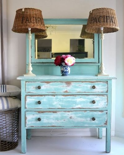 distressed painted furniture ideas for a coastal beach lookhttpwww themed stores u