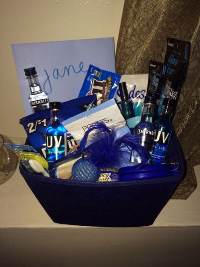 69 best images about Gift baskets on Pinterest   Themed ...