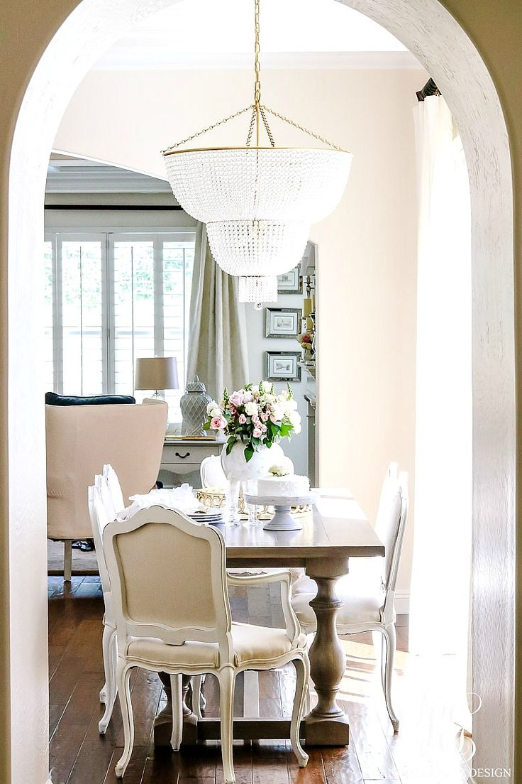 charming breakfast nooks kitchen nook lighting Transitional Kitchen Nook Remodel Styled for Spring