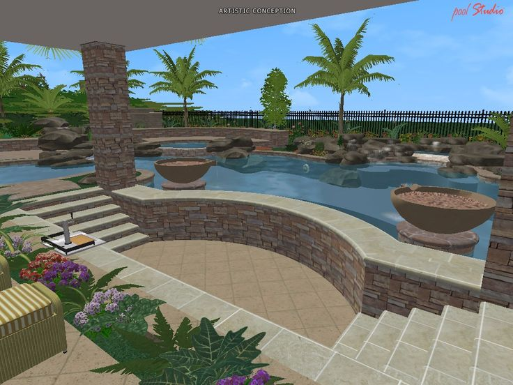 Beautiful Lagoon Pool Designs Images Decorating Design Ideas
