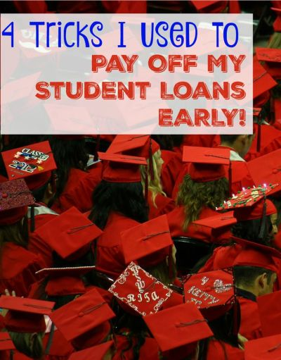 4 Ways I Paid Off My Student Loan EARLY | Student loans, Help me and Student