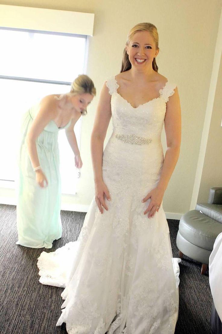 dresses used wedding dresses Essense of Australia D Size 10 Used Wedding Dresses