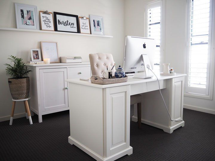 my home office reveal design