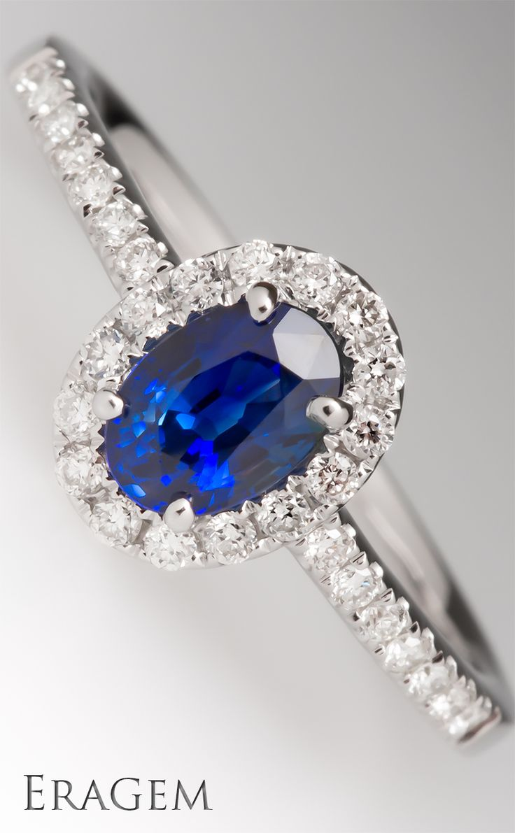saphire ring birthstone wedding rings Sapphire the September birthstone makes a lovely engagement ring center stone