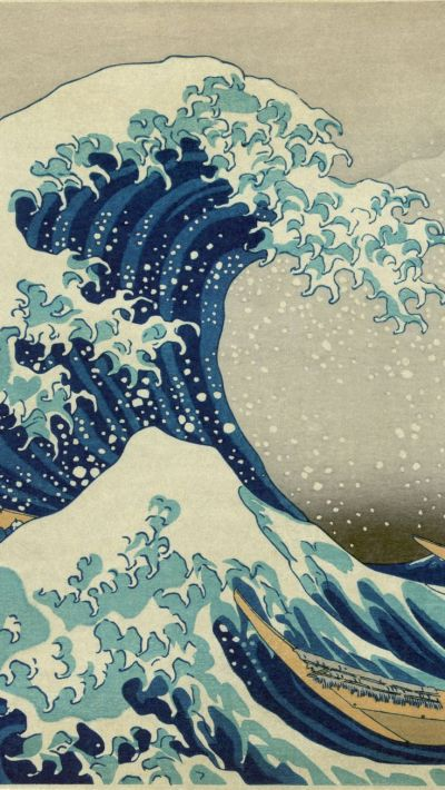 TAP AND GET THE FREE APP! Art The Great Wave off Kanagawa ...