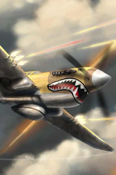 Curtis P-40 Warhawk | Flying Art | Pinterest | Jets, Fighter jets and War