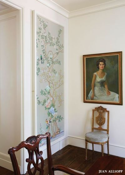 25+ best ideas about Framed Wallpaper on Pinterest | Wallpaper panels, Elements of style and ...