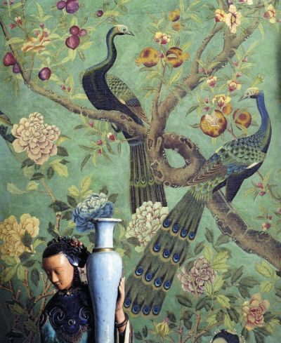 Best 25+ Chinoiserie wallpaper ideas on Pinterest | Powder rooms with chinoiserie inspired ...