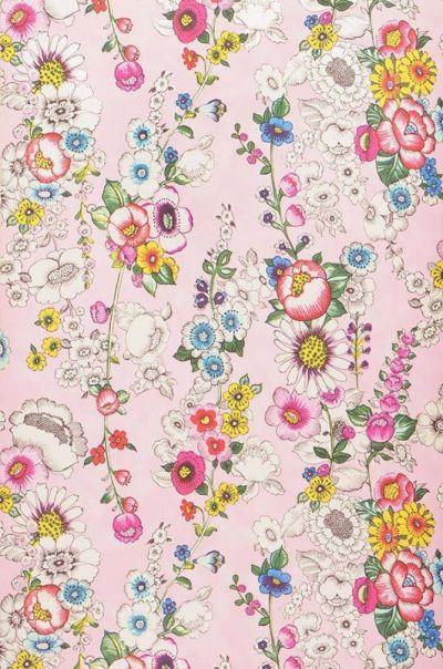 17 Best ideas about Floral Pattern Wallpaper on Pinterest | Blue wall stickers, Beautiful ...