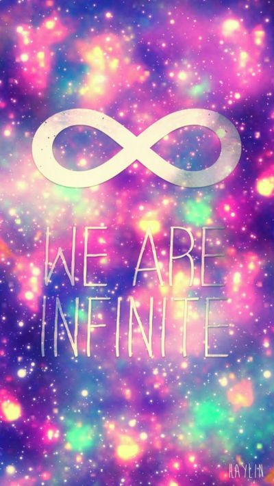 Cute infinity wallpaper | Girly wallpapers | Pinterest | Quotes about life, iPhone 4s and ...