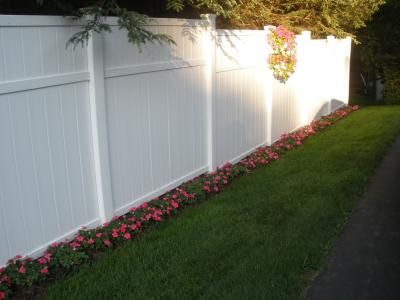 Delighful Vinyl Privacy Fence Ideas Find This Pin And More On Decorating