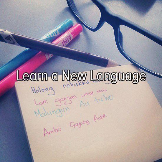 Mijn nieuwste doel: Om een buitenlandse taal te leren. Bij voorkeur de beginselen van Spaans. En anders om mijn Engels naar een hoger niveau te helpen.:
