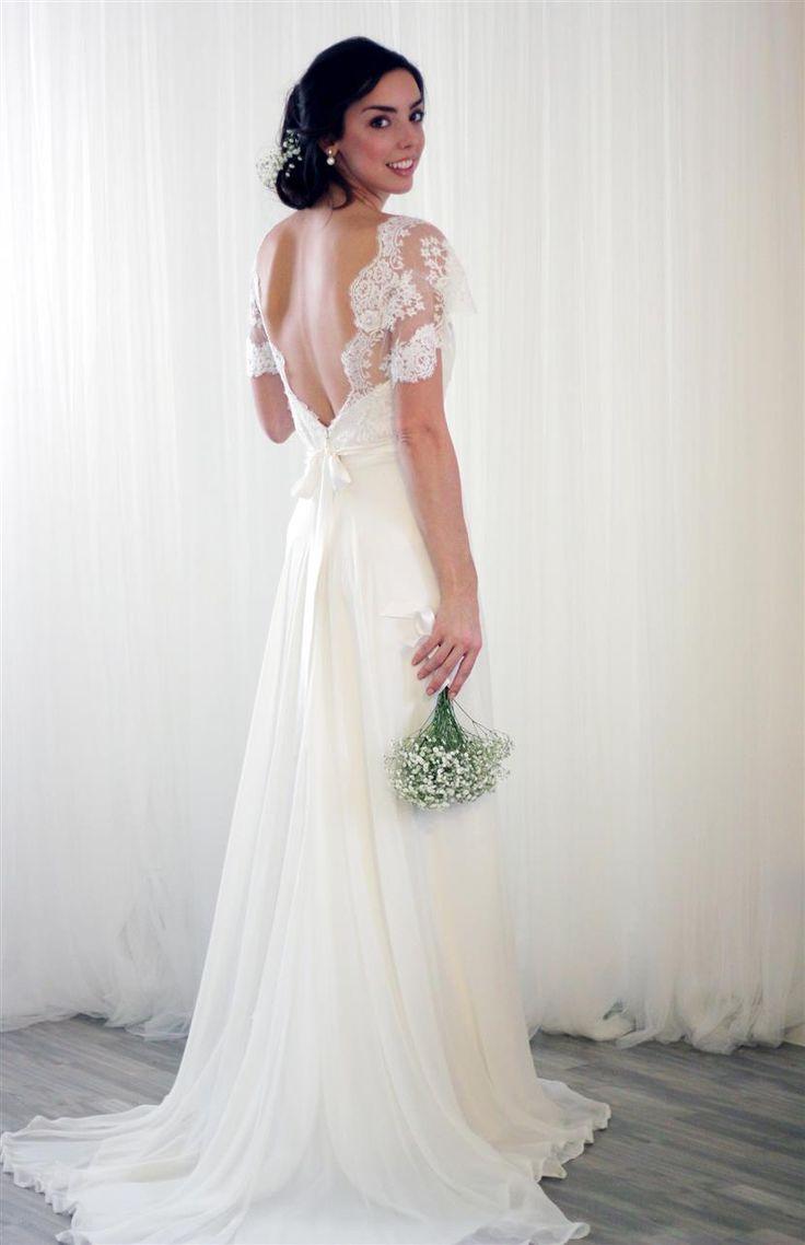 ivory weddings retro wedding dress Elegant Vintage Wedding Dresses from Rose Delilah