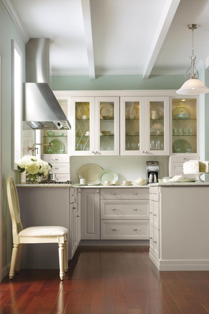 kitchens and dining rooms martha stewart kitchen cabinets White kitchen cabinets Martha Stewart s Skylands Kitchen
