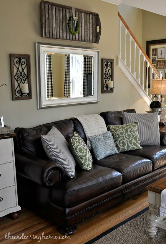 25 best ideas about brown couch decor on pinterest living room furniture and black