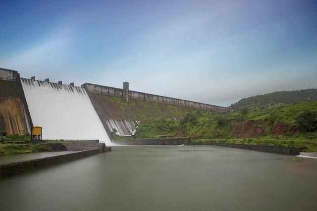 Temghar Dam, Maharashtra, India: