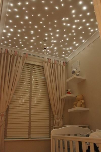 How Sweet Would This Lighting Idea Be In Your Babyu002639s Nursery The Blog Post Links  Pinterest