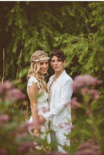 lesbian weddings lesbian wedding bands Ashley Sam Middletown CT We Laugh We Love Wedding Photography
