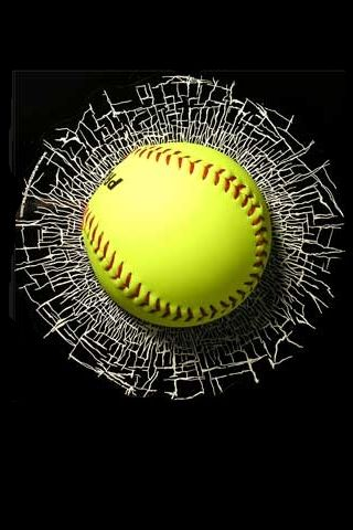 Softball iPhone Wallpapers/iPhone Backgrounds/iPod touch Wallpapers 320x480 [ID:4926] | softball ...