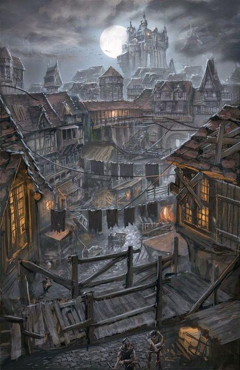 Dangerous fantasy city