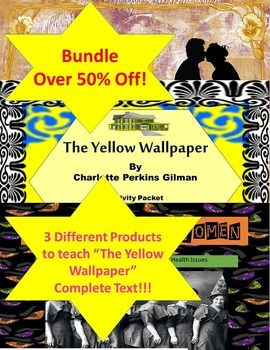 1000+ ideas about The Yellow Wallpaper on Pinterest   Literature, Yellow wallpaper summary and ...