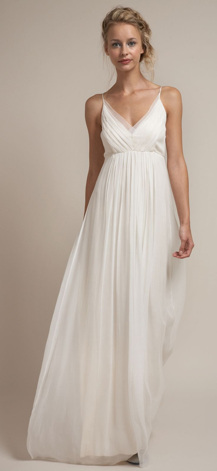 vestidos de novia simple beach wedding dresses Rustic Wedding Gowns By Saja Rustic Chic WeddingsSimple WeddingsBeach