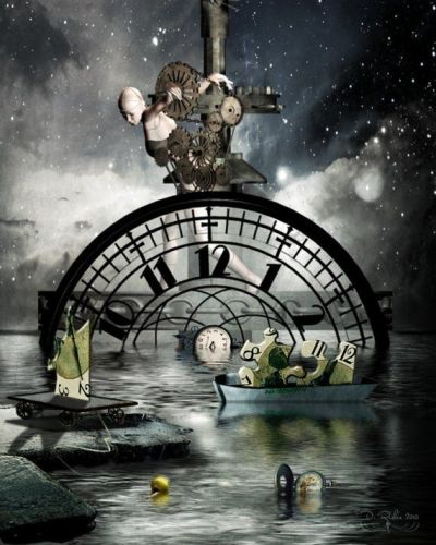 Moving Time 16x20 Surreal Art Print by ArtByResolution on Etsy, $45.00 | Artwork | Pinterest ...