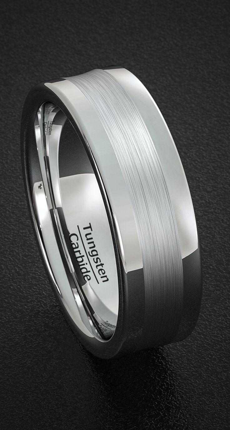 tungsten wedding bands wonder woman wedding ring 25 Best Ideas about Tungsten Wedding Bands on Pinterest Wedding band men Tungsten rings and Men wedding rings