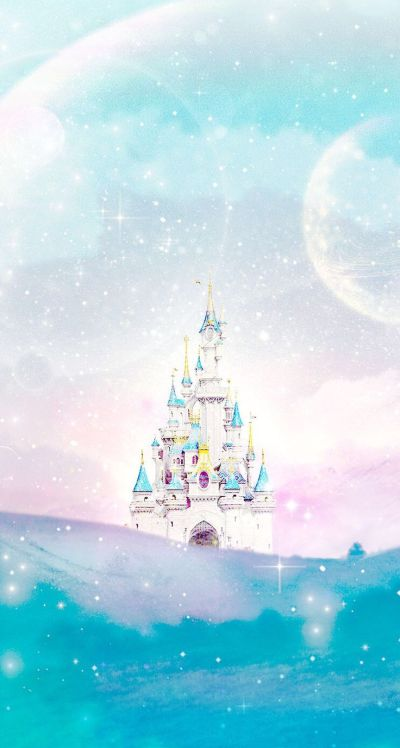 Disney castle Line iphone wallpaper | Iphone wallpapers | Pinterest | Disney, Disney princess ...