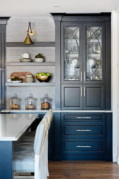 17 Best ideas about Black China Cabinets on Pinterest | Black hutch, Refinished china cabinet ...