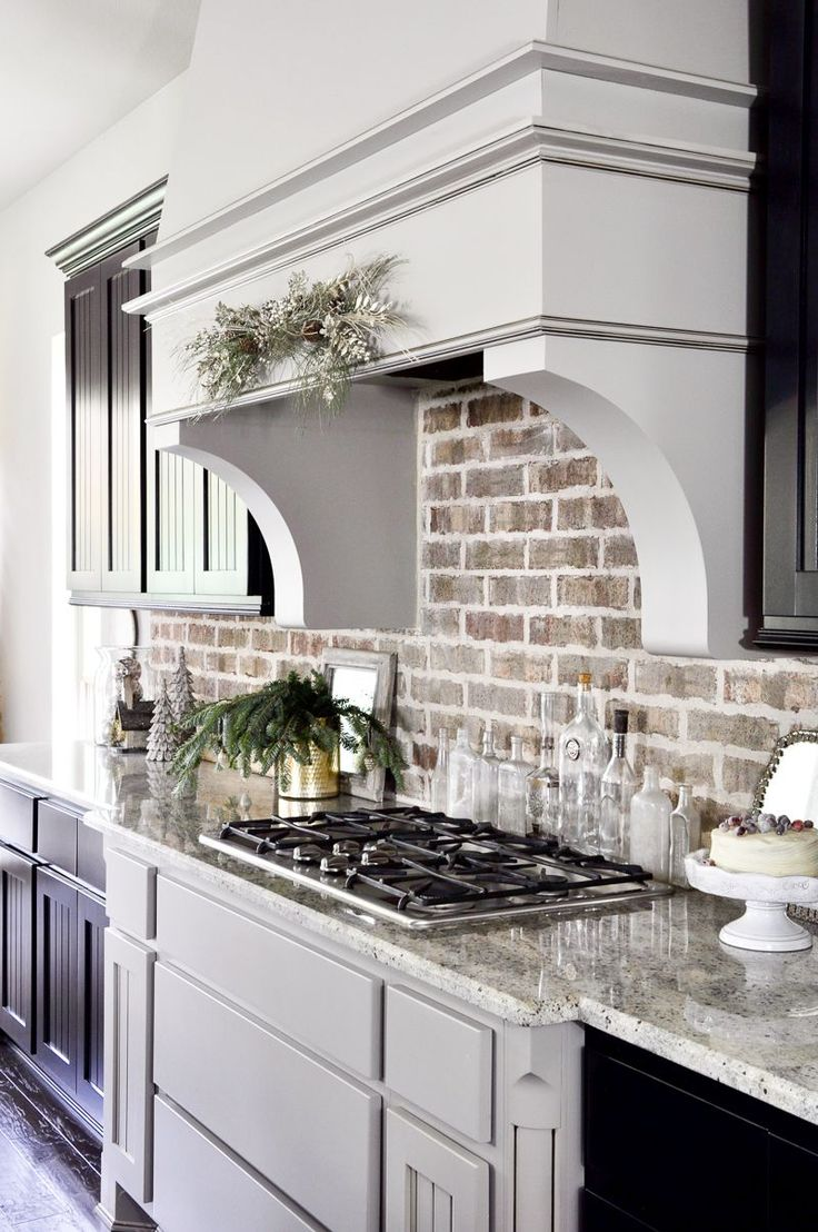 exposed brick kitchen backsplashes for kitchen 25 best ideas about Exposed Brick Kitchen on Pinterest Brick wall kitchen Kitchen brick and Exposed brick