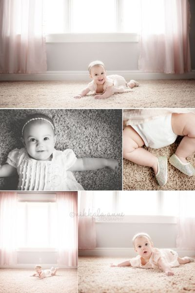 6 months | Smiles and Toes | Nikkala Anne Photography 6 ...