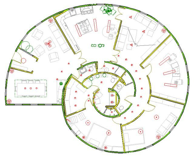 floor plan of a cool house to decorating