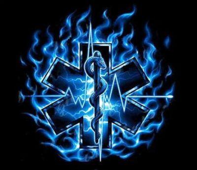 flaming star of life   Tattoo   Pinterest   Of life, Stars and Paramedics