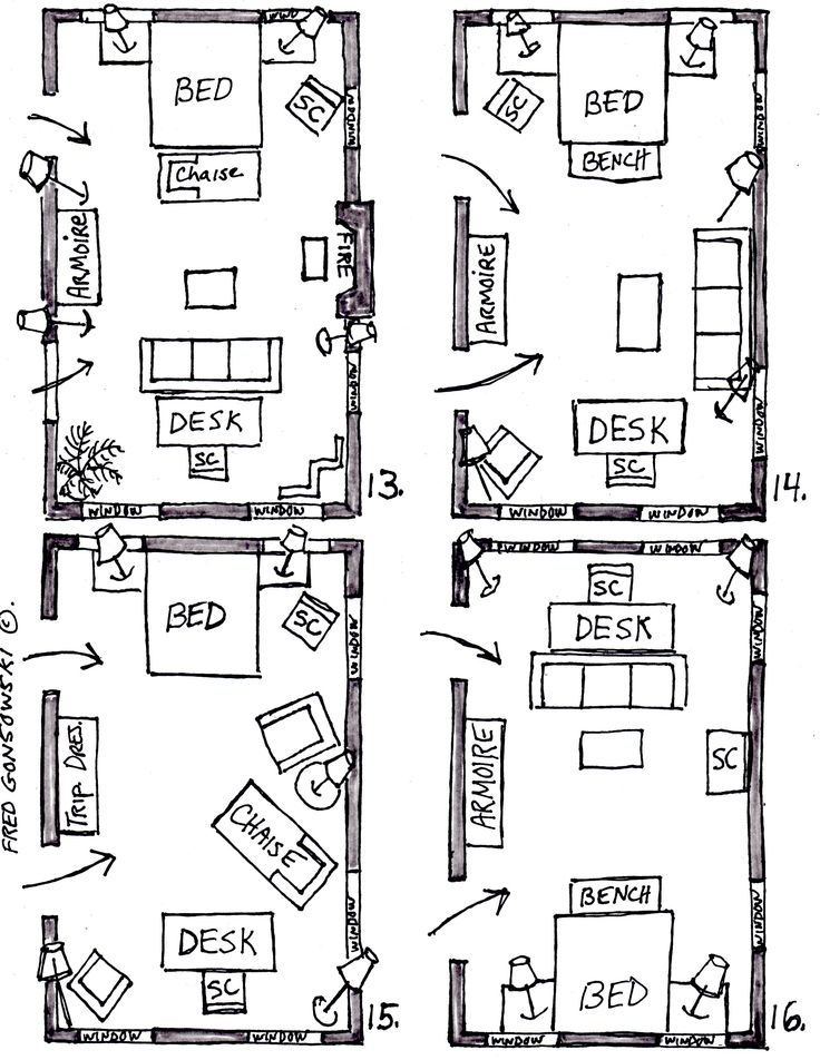 bedroom furniture placement ideas arranging furniture in a 15 foot wide by 25 long bedroom placement ideas o - Bedroom Placement Ideas