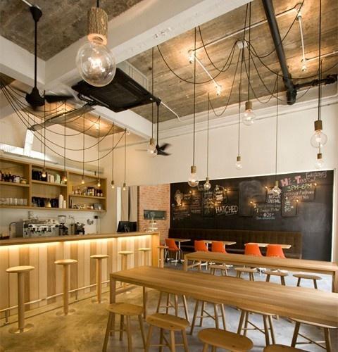 fabric cable lighting kuma kablo aydnlatma design tasarim aydinlatma cafe ideas