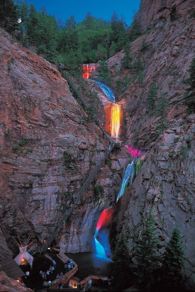 Seven Falls, Colorado Springs, Colorado - 13 Best Weekend Getaways for an Unforgettable Time: