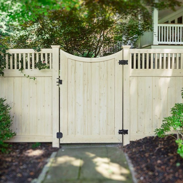 Fine Vinyl Privacy Fence Ideas Awesome Backyard Idea Curved Intended Inspiration